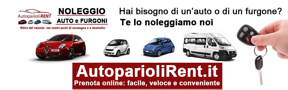 AutoparioliRent.it - Noleggio auto furgoni e pulmini a Roma