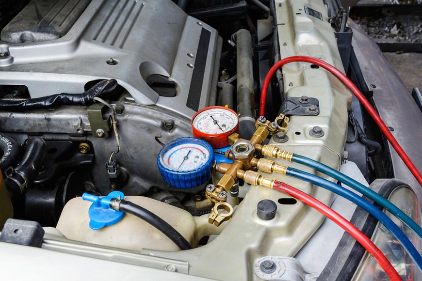 Ricarica Aria Condizionata Auto e Sanificazione (3 in 1)